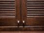 Дверцы с жалюзи